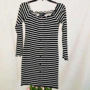 Derek Heart | Women's Striped Dress Size Large